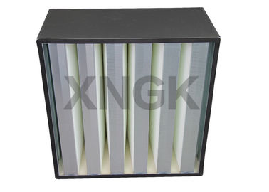 Cleanroom Terminal Filtration Volume Tinggi HEPA Filter H13 ABS Plastic Frame
