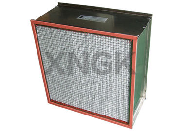 Cina Flange Type Oven Air Filters High Temperature High Dust Holding Ability pemasok