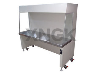 EBM Fan Laminar Air Flow Chamber, Ductless Table Top Fume Hood Unik Low Vibration