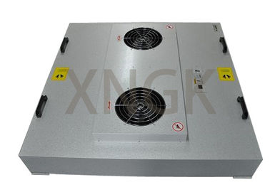 HV Kaca Fiber Media Fan Powered Hepa Filter, EBM Motor Fan Coil Unit Filter