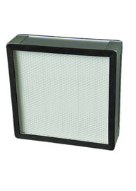 Galvanized Frame Glass Fiber Efisiensi Tinggi Filter Particulate / Iso Hvac Hepa Filter System